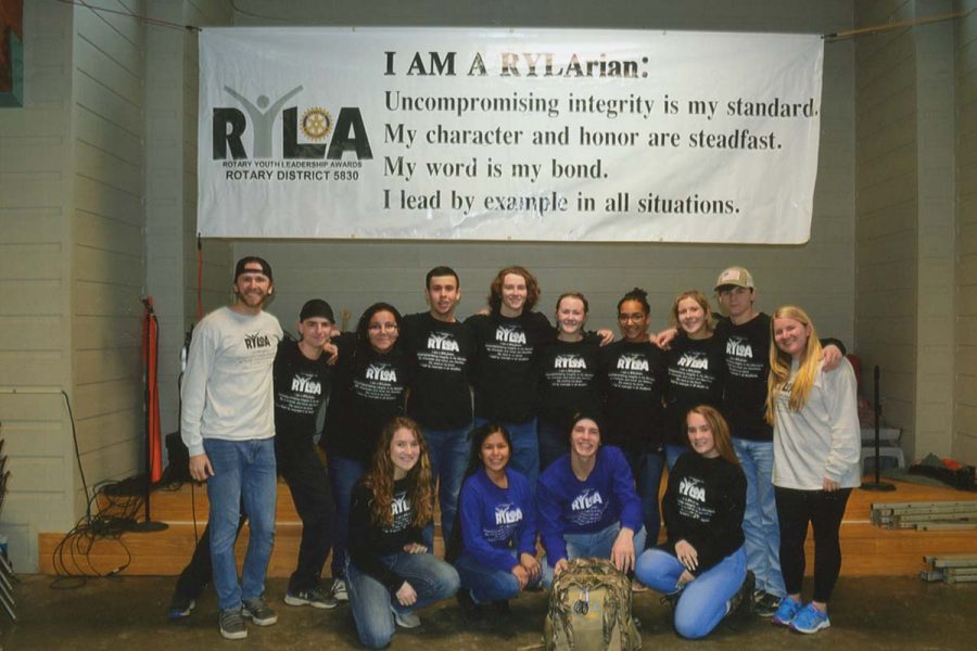 Students+attend+the+Rotary+Youth+Leadership+Awards+camp%2C+and+learn+valuable+lessons+about+how+to+be+an+impactful+leader+in+their+community.+The+camp+was+held+February+23-25.+Submitted+photo