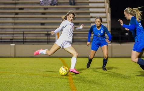 Texas High vs Sulphur Springs girls soccer 2018