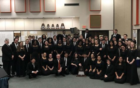 Portions of the Tiger Band performed in the UIL showcase on March 7, receiving exceptional scores. First band tackled all ones, while second band took home a rating of twos. Submitted photo