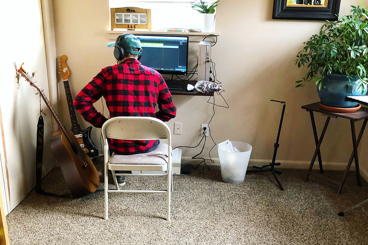 Musician Keith Tubbs expresses the importance of loving one's passions despite obstacles. He is dedicated to pursuing lyrical writing and folk-indie music. Submitted photo