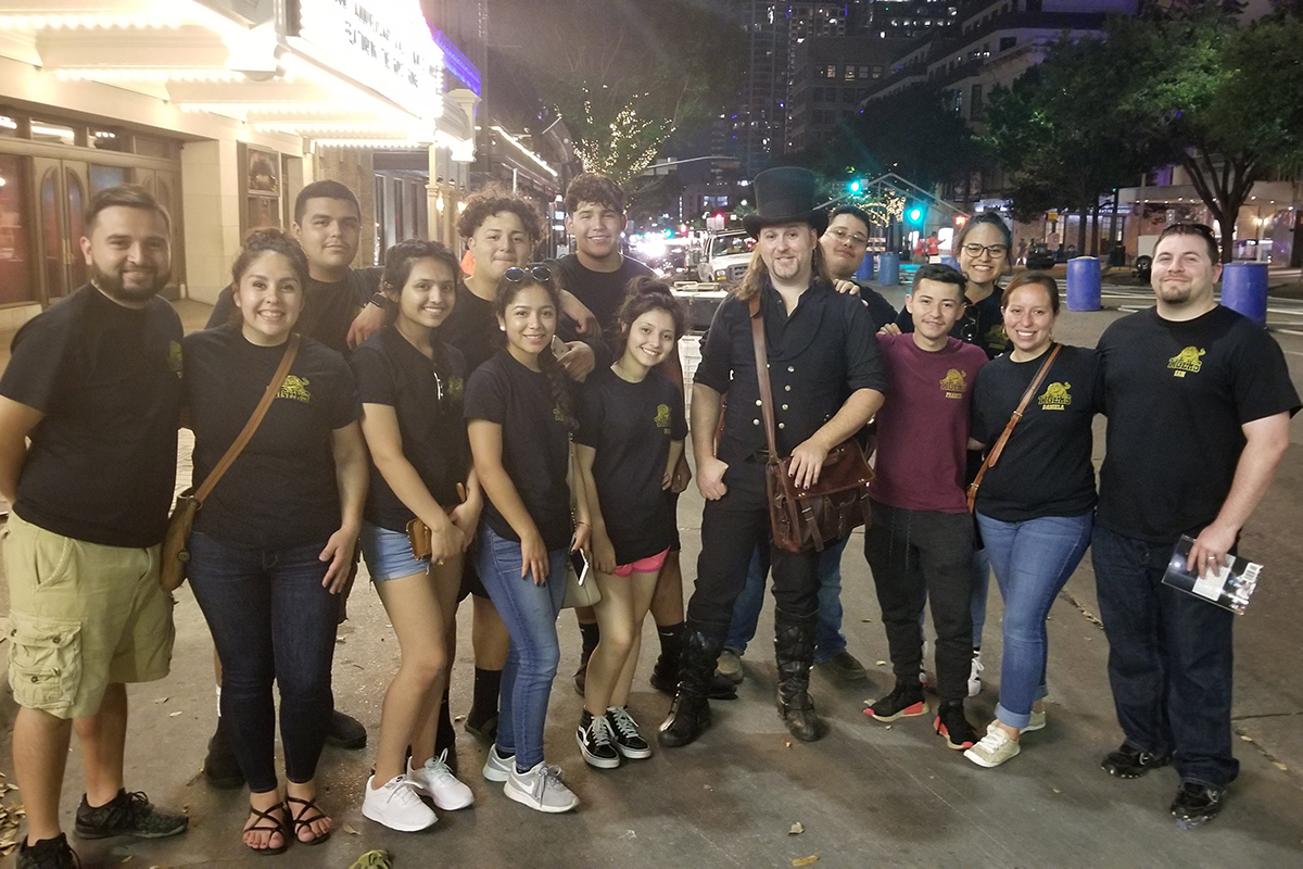 The Multicultural Club inspires members to explore their variety of cultural roots. The organization traveled to Austin to tour the city and gain experience touring. submitted photo
