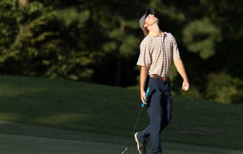 Golf team falls short at regional meet