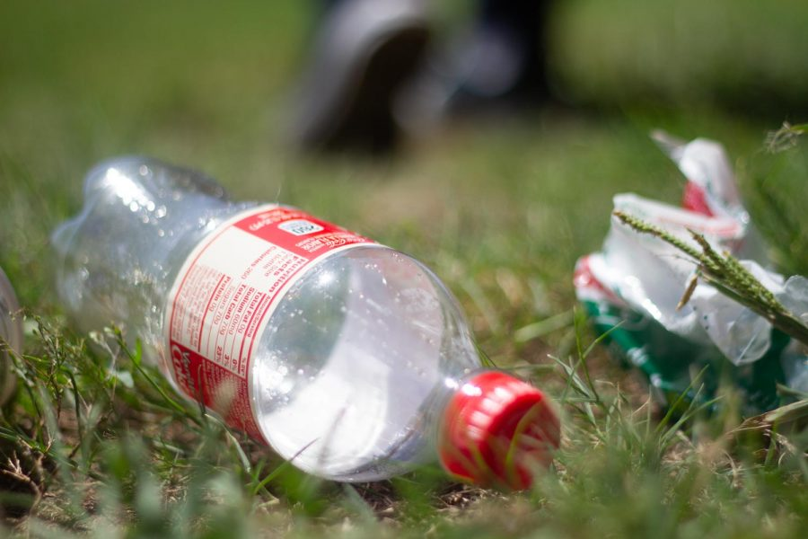 Littering in state parks is an ongoing environmental issue. Over 38 billion water bottles end up in U.S. landfills annually.