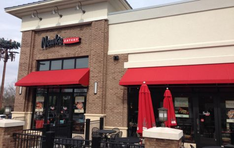 Newk's Eatery will open on Dec. 1. The restaurant will serve sandwiches, salads,  and pizzas.