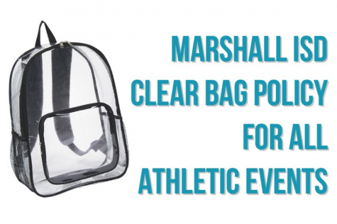 Clear bag policy now in place at Marshall ISD