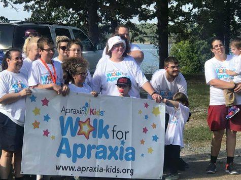 Walking for apraxia