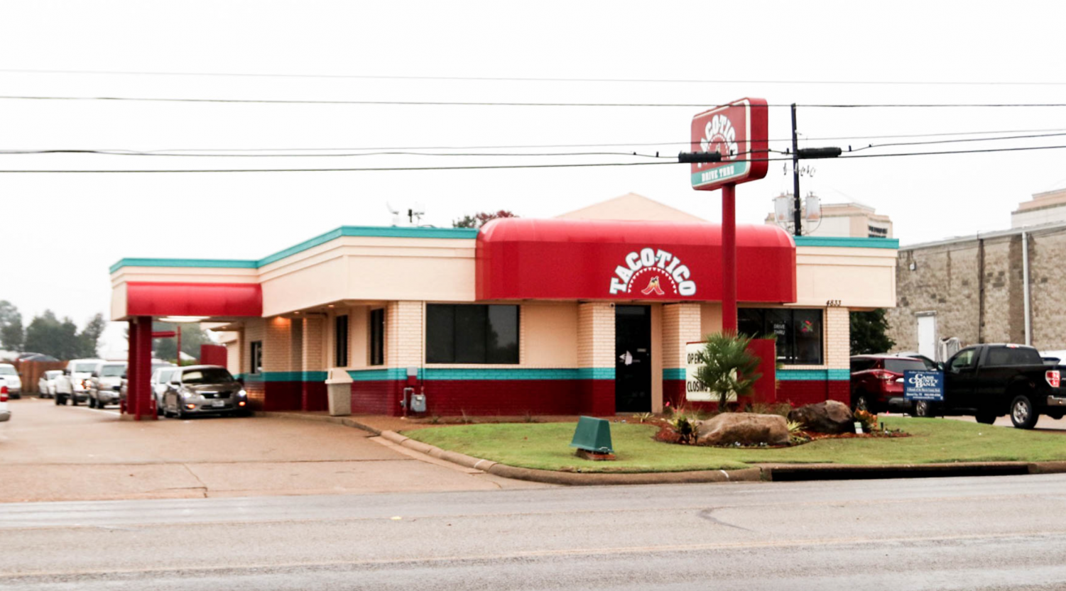 Taco Tico recently opened a new location on Texas Blvd. in the old Backyard Burger location. Customers ordered over 6,000 taco burgers in the first week of Taco Tico's return to Texarkana.