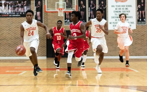 Texas High vs Marshall JV boys basketball 2018