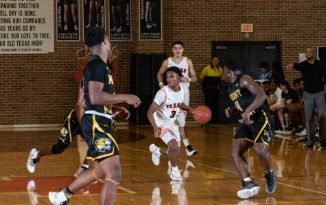 Texas High vs Mount Pleasant varsity boys basketball 2019