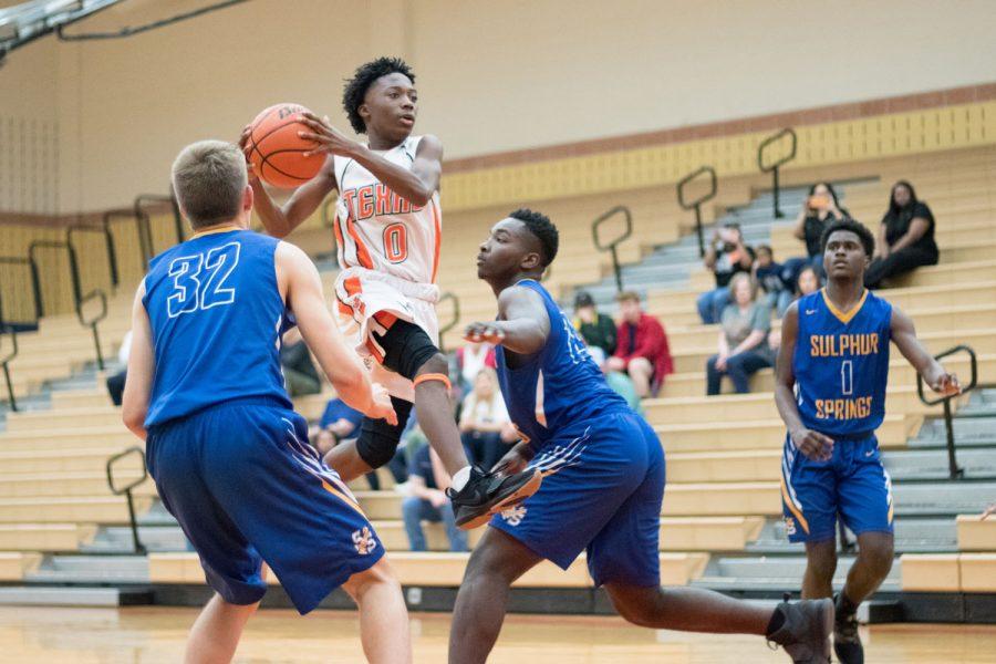Texas High vs Sulphur Springs boys 9th grade basketball 2019