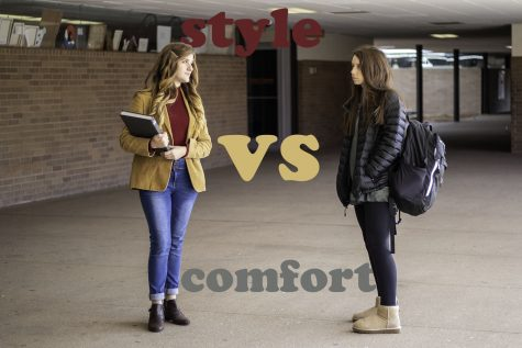 Fashion trend sweeps school