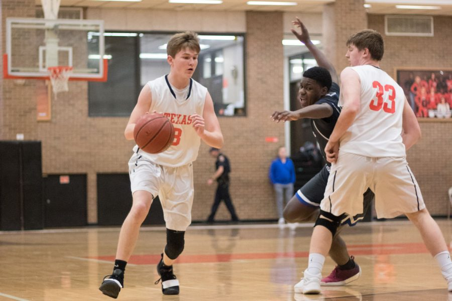 Texas High vs Sulphur Springs boys jv basketball 2019