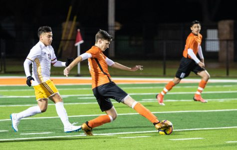 Texas High vs Center boys varsity soccer 2019