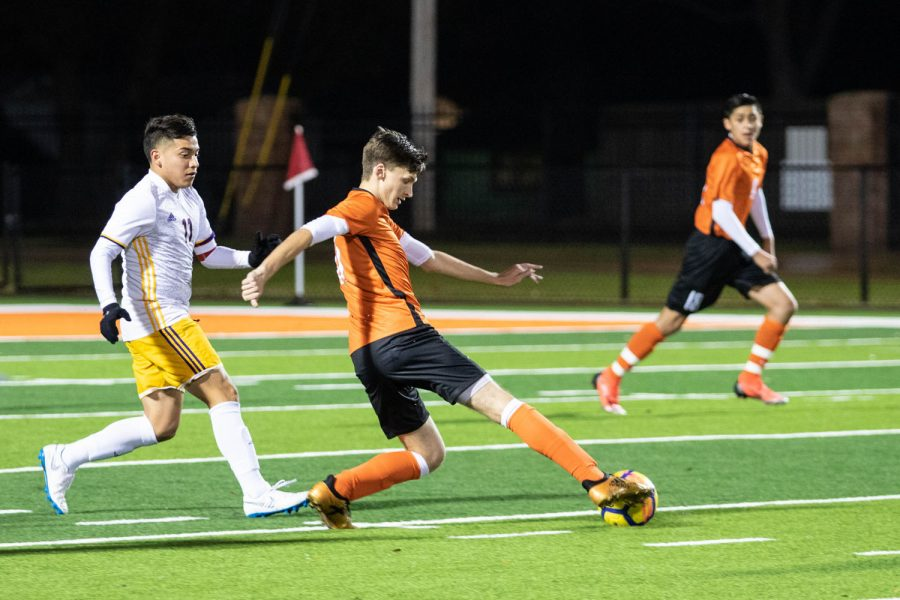 Texas High vs Center boys varsity soccer 2019