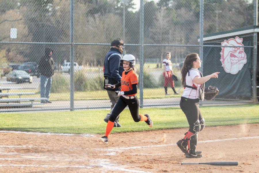 Texas High vs Kilgore jv softball 2019
