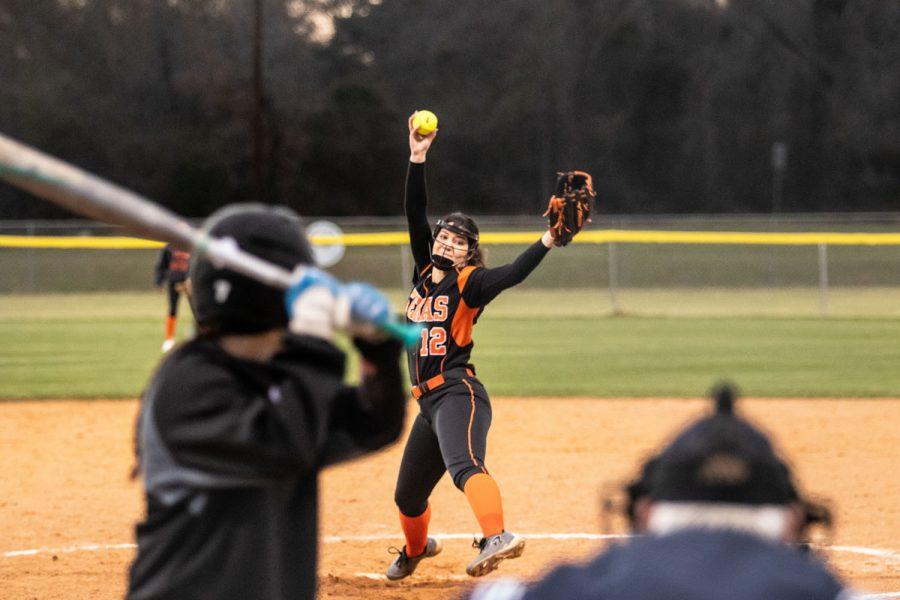 Texas High vs Kilgore varsity softball 2019