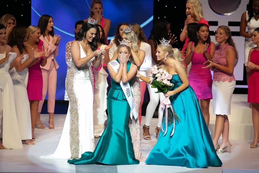 Photo courtesy of Allie Graves. Allie Graves wins the title of Miss Texas Outstanding Teen 2019.