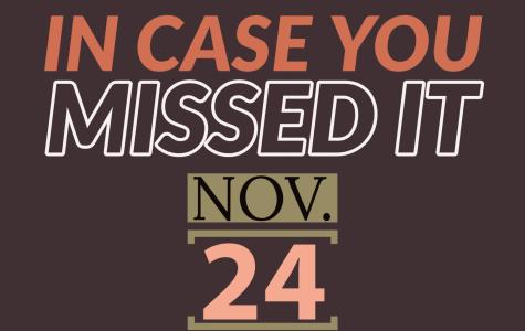 In case you missed it, Nov. 24, 2019