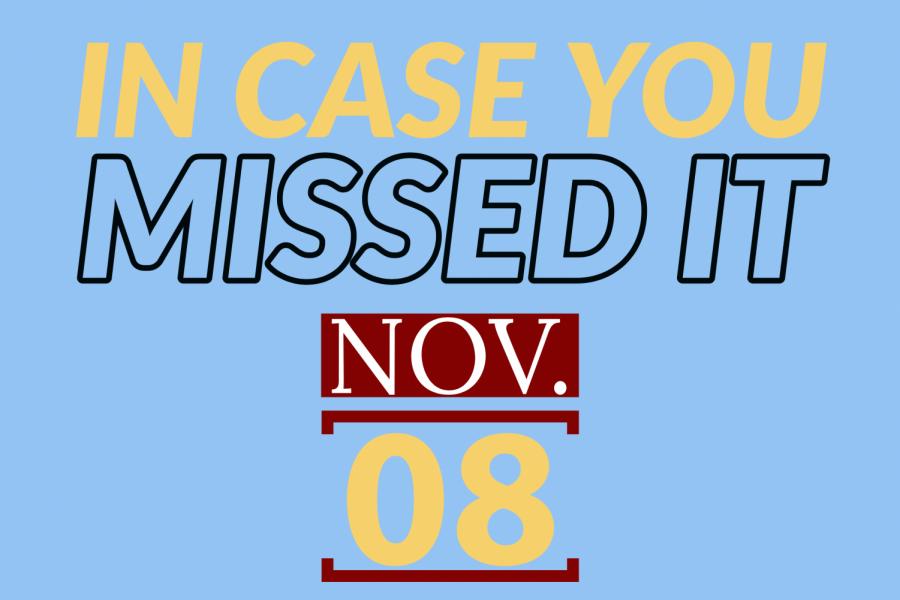 In case you missed it, Nov. 8, 2019