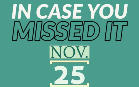 In case you missed it, Nov. 25, 2019