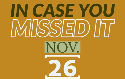 In case you missed it, Nov. 26, 2019