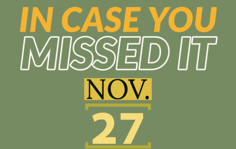 In case you missed it, Nov. 27, 2019