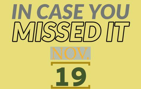 In case you missed it, Nov. 19, 2019