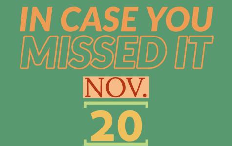 In case you missed it, Nov. 20, 2019
