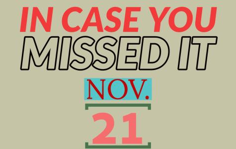 In case you missed it, Nov. 21, 2019