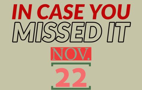 In case you missed it, Nov. 22, 2019