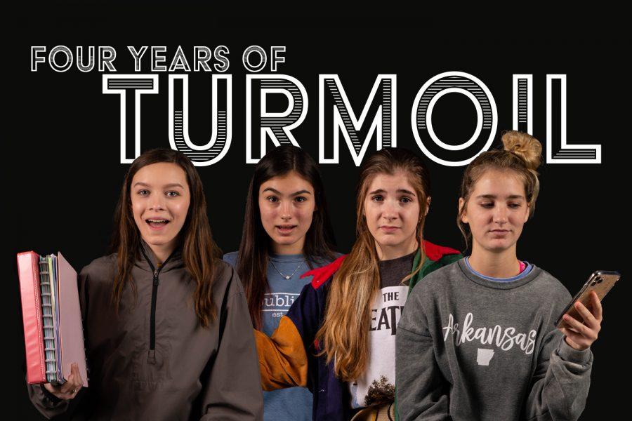 Four years of turmoil