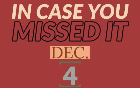 In case you missed it, Dec. 4, 2019