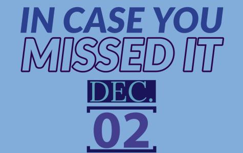 In case you missed it, Dec. 2, 2019