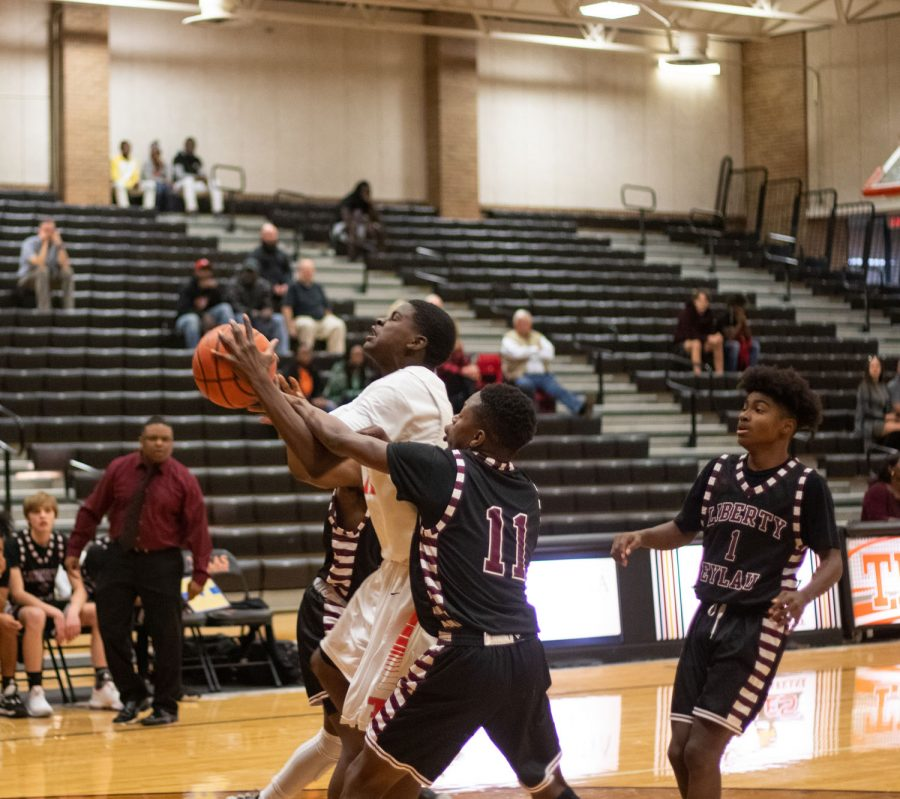 Texas High vs Liberty Eylau Boys 9th Grade Basketball