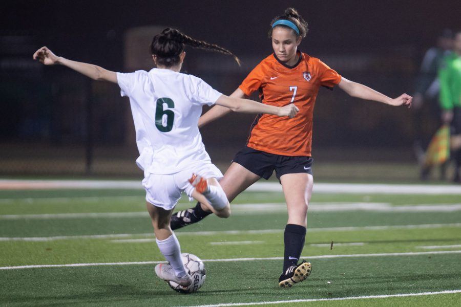 Texas High School Girls Varsity Soccer v.s. Longview