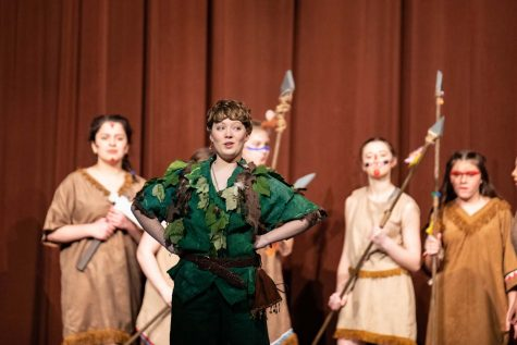 Peter Pan Dress Rehearsal and Performance