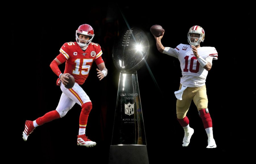 The Kansas City Chiefs and the San Francisco 49ers will compete in Super Bowl LIV.