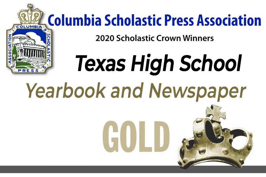 Graphic+by+Kaitlyn+Rogers.+The+Tiger+Times+Newspaper+and+Tiger+Yearbook+both+received+Gold+Crowns+from+the+Columbia+Scholastic+Press+Association.