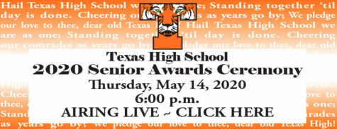 2020 Senior Awards Presentation
