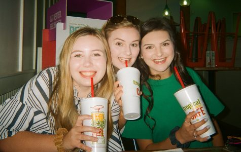 Seniors Molly Kyles, Addison Cross and Anna Grace Jones were editors in chief of the newspaper.