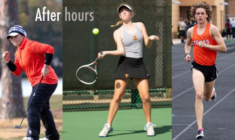 Graci Henard, Janie Rounds and Owen Likins are among the many seniors who were unable to complete their season.  However, they've continued to practice and stay hard at work.