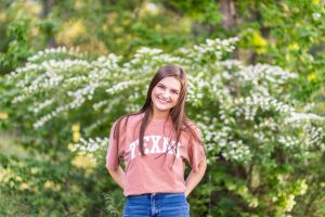 Senior Anna Grace Jones, editor in chief, will attend the University of Texas at Austin.