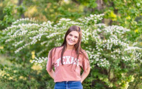 Senior Anna Grace Jones, editor in chief, will attend the University of Texas at Austin.