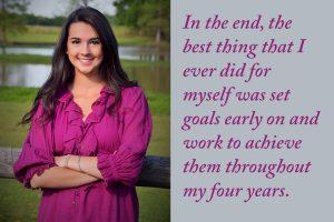 Set goals, raise the bar