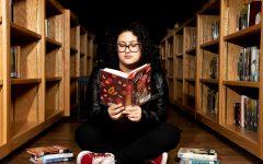 Senior Andrea Loredo's love for reading came when she found the right book.