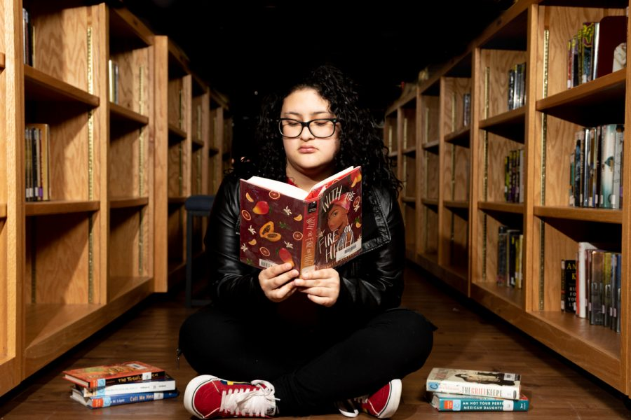 Senior Andrea Loredo's love for reading came when she found the right book.
