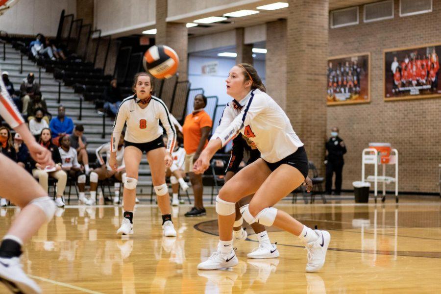 THS v. Tyler/Greenville varsity volleyball
