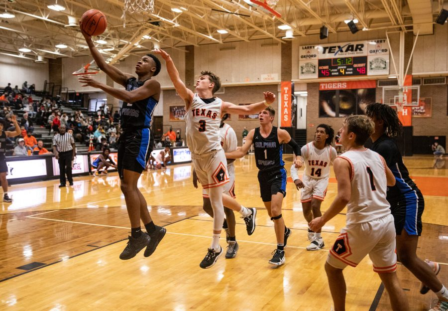 THS v. Sulphur Springs boys varsity basketball