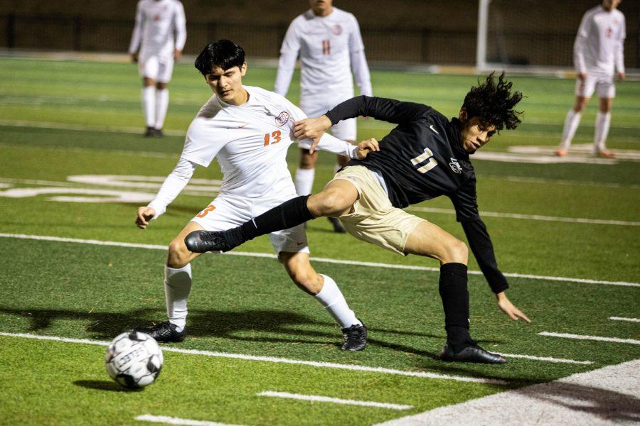 THS v. Pleasant Grove boys varsity soccer