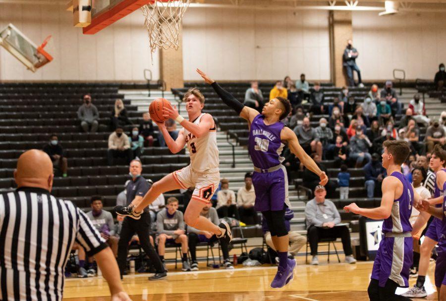 THS v. Hallsville Boys Basketball